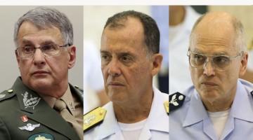 Comandantes do Exército, Marinha e Aeronáutica deixam cargos