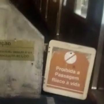 Homem morre após ser esmagado por trem no Recife