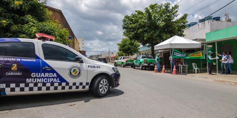 Segundo a Secretária de Ordem Pública de Caruaru, a medida de reabertura do Governo dificulta a continuidade dos trabalhos das barreiras sanitárias