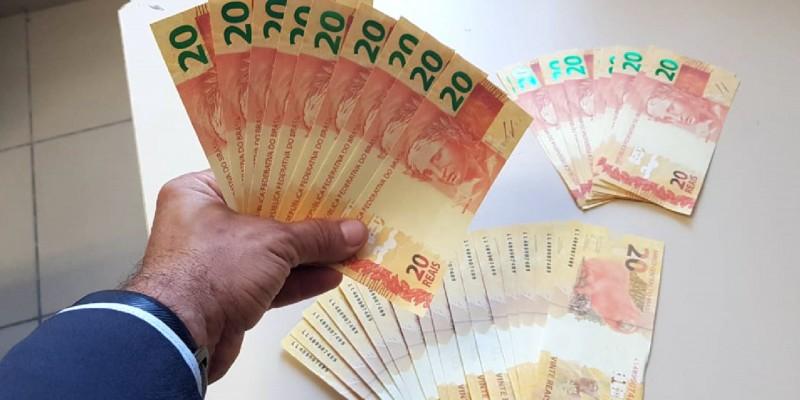 A corporação afirma que a remessa de cédulas falsas, veio de uma agência dos Correios de Goiana/GO