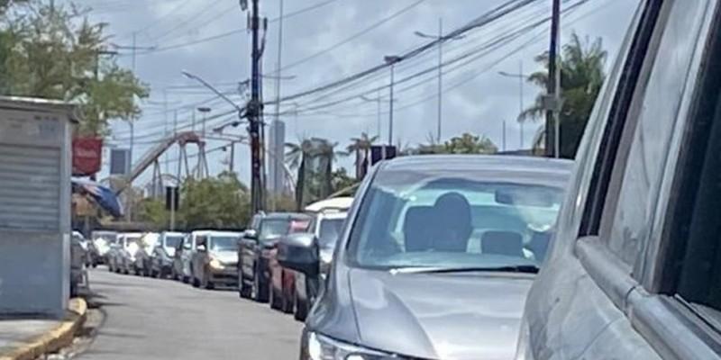 De acordo com a Secretaria Estadual de Saúde (SES-PE), a mudança tem o objetivo de otimizar a organização dos carros, que ficarão dentro do estacionamento aguardando o atendimento, por ordem de chegada