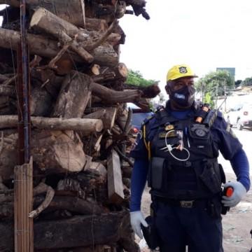 Ação em Olinda orienta pessoas e desmonta fogueiras na pandemia