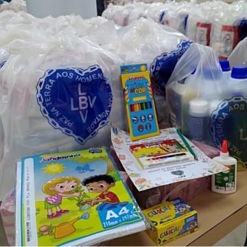 LBV prepara entrega de kits pedagógicos e  outros utensílios para estudantes do Recife