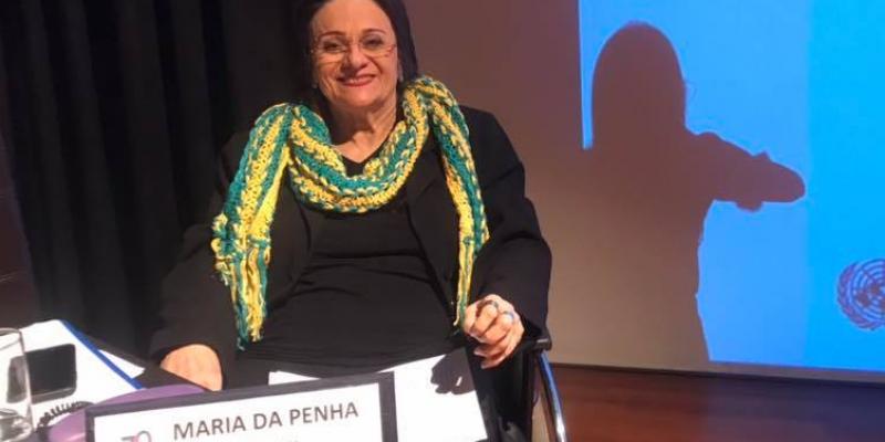 Aprópria Maria da Penha,ativista que da nome à Lei,esteve na capital pernambucana para inaugurar a unidade