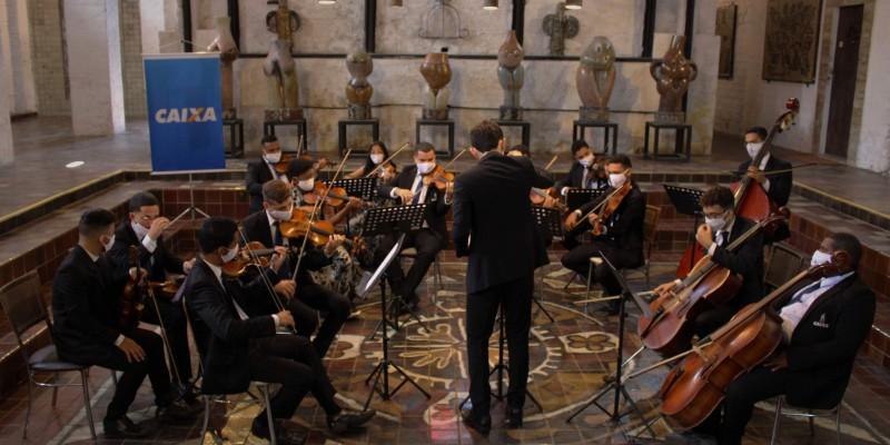 O concerto foi gravado no Instituto Ricardo Brennand e será transmitido às 20h.
