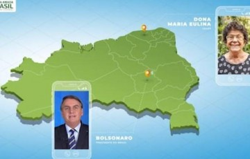 Bolsonaro cria pessoas para conversar em publicidade oficial