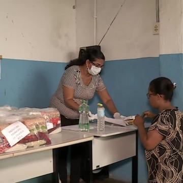 Paulista distribui cestas básicas estudantes rede pública