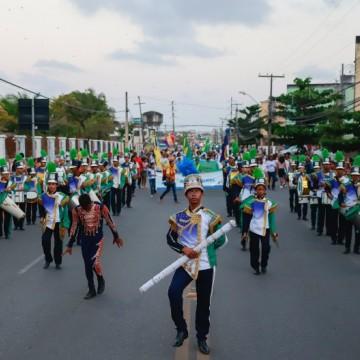 Desfile Cívico de Olinda interdita trecho de avenida em Rio Doce