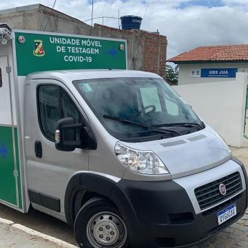 Prefeitura de Caruaru disponibiliza unidade móvel de testagem contra a covid-19
