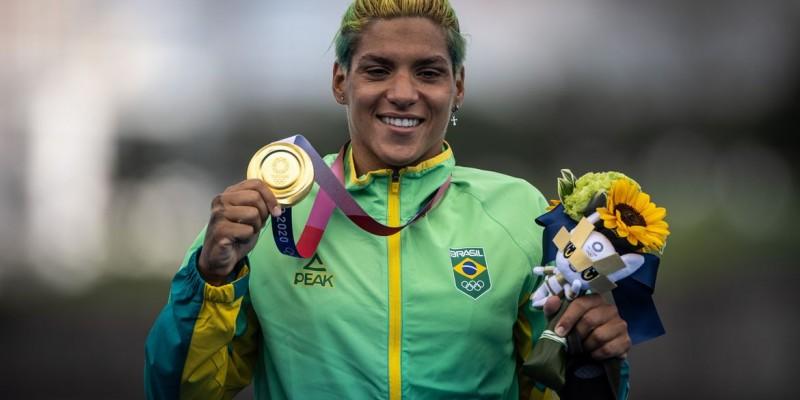Brasileira vence prova dos 10 km da Olimpíada de Tóquio