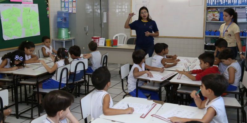 As vagas são destinadas para as turmas da manhã e da tarde do Pré II da Educação Infantil, dedicado às crianças de 4 anos, e para o 2º e o 5º Ano do Ensino Fundamental