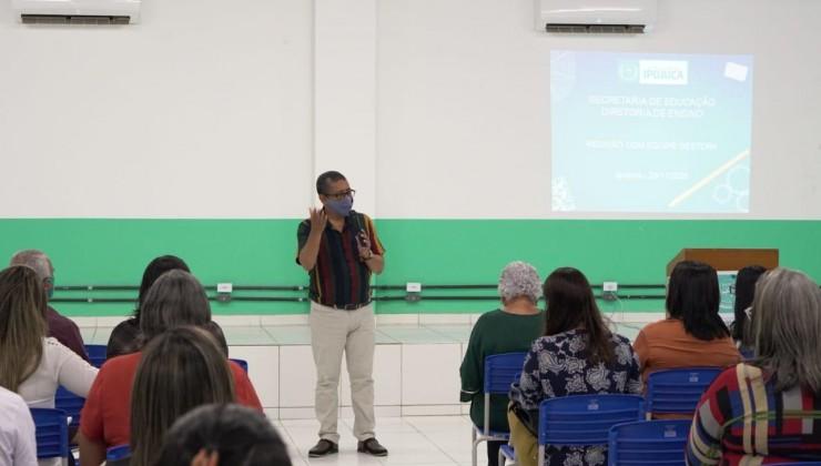 """Ipojuca lança plataforma """"Banco de Aulas"""" para facilitar educação a distância"""