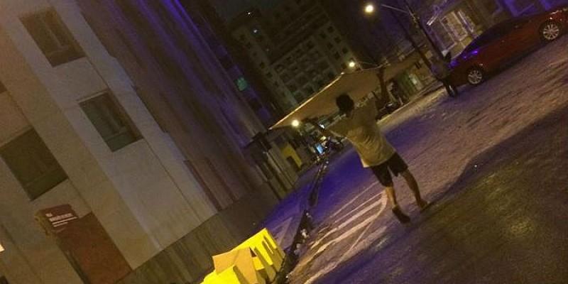 A Guarda Municipal do Recife foi acionada, e a Fundação de Cultura da Cidade já prestou queixa