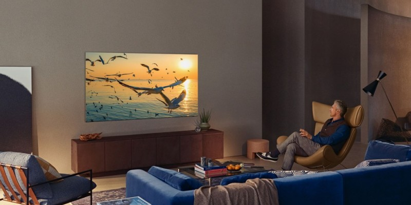 As Neo QLED e MicroLED são os destaques, que trazem design com tela infinita e recursos de inteligência artificial