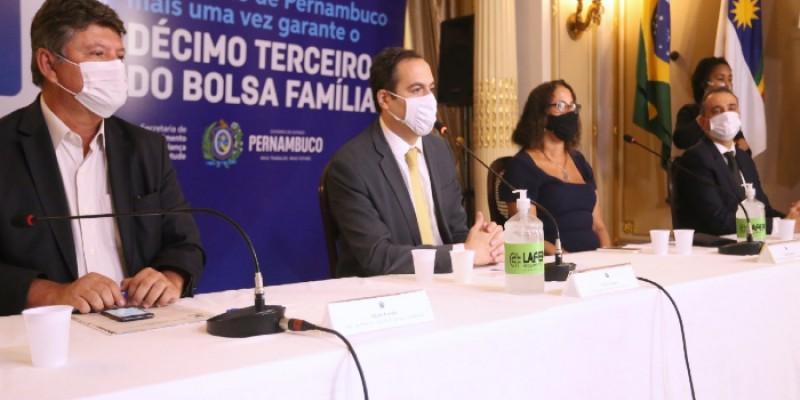 O governo de Pernambuco informa que o benefício vai injetar R$ 154 milhões na economia do Estado, beneficiando mais de 1.190 milhão de famílias