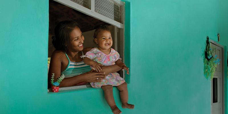 O Programa busca ampliar e fortalecer a rede de atenção e o cuidado integral às crianças na primeira infância