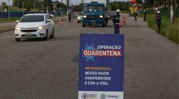 Operação Quarentena mobilizará 368 policiais e bombeiros em Caruaru e Bezerros