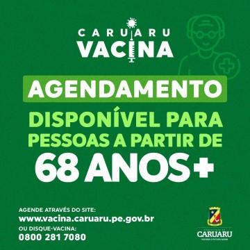 Caruaru amplia público de vacinação para a Covid-19
