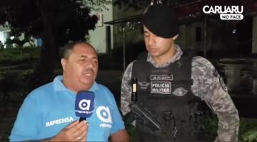 Três pessoas são presas na Av. Brasil em Caruaru