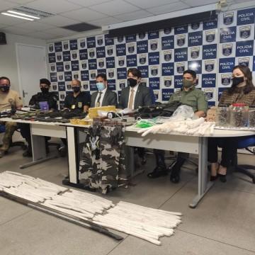 Suspeitos que pretendiam atacar o Cotel são presos pela Polícia Civil
