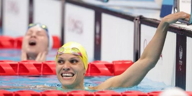 Atleta começou carreira na natação em Caruaru; medalha veio nos 100 m peito da classe SB12