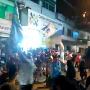 Homens dão tiros para o alto em festa de eleitores de candidato a vereador no Recife