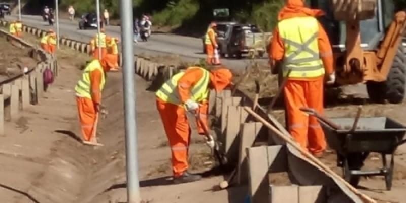 As obras começaram em 2019, e a cobrança pela requalificação da via foi reforçada pela deputada estadual Simone Santana