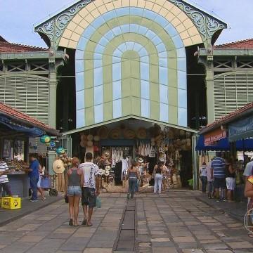 Mercado de São José tem entorno reordenado