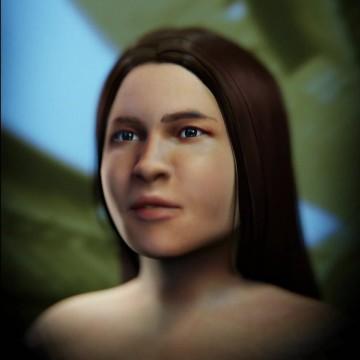 Pesquisadores reconstituem rosto de índia que viveu há 2 mil anos em PE