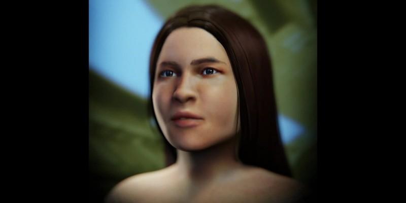 Com a tecnologia 3D foi possível chegar a uma imagem de como era a parente mais antiga dos pernambucanos