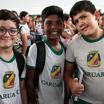 Alunos da rede municipal de Caruaru receberão cartão alimentação