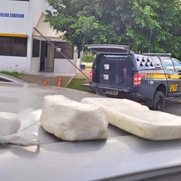 PRF aprrende 1,5 kg de cocaína em São Caetano