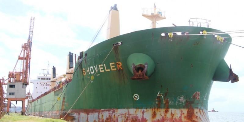 As informações são dos tripulantes do navio navio cargueiro Shoveler, vindo das Filipinas que chegou ao Recife em 30 de junho