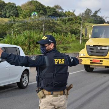 PRF intensifica fiscalização nas rodovias durante o feriadão
