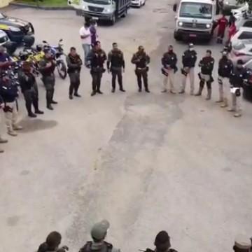 Operação Mandacaru reforça segurança na BR 104, em Caruaru