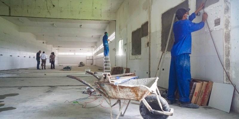 Centro contará com mais 60 leitos de enfermaria e irá funcionar no bairro de Cidade Tabajara, num prédio anexo à Central de Abastecimento Farmacêutico (CAF)