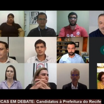 Candidatos à prefeitura do Recife participam de debate organizado pela UFPE