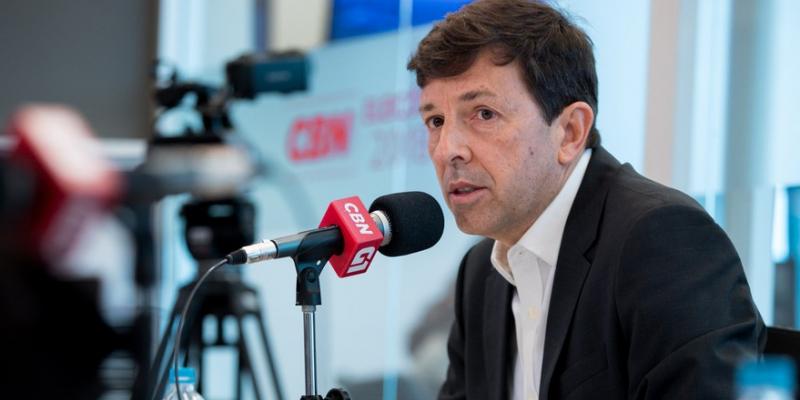 O programa contou com a participação do ex-Candidato a Presidente João Amoedo