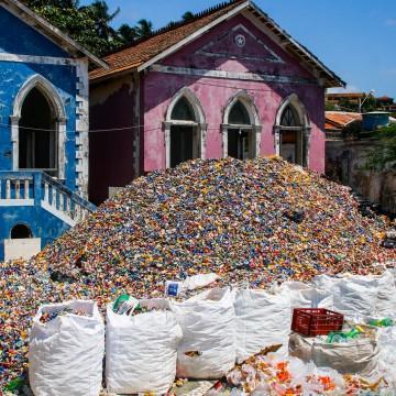 Mais de 150 toneladas de material reciclável são coletadas durante o carnaval do Recife e de Olinda