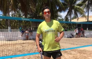 Torres Beach Tennis de Caruaru em evento no litoral sul de PE