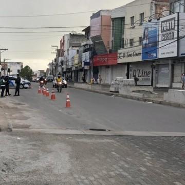 Circulação restrita em Caruaru e Bezerros na Operação Quarentena