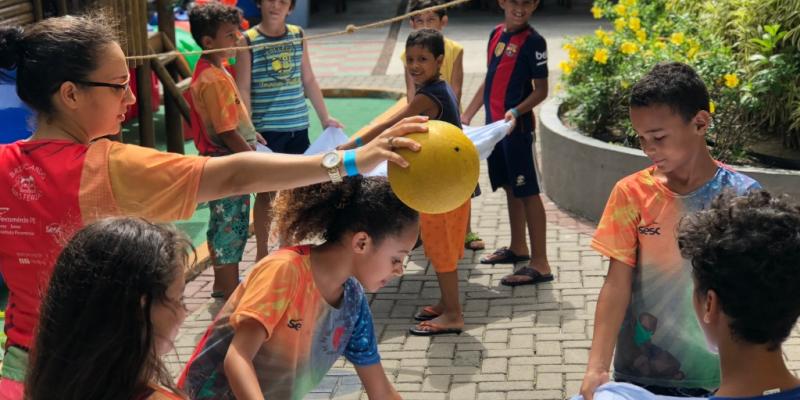 Unidades do Sesc Caruaru, Surubim, Pesqueira, Belo Jardim, Garanhuns, Arcoverde e Buíque oferecerão atividades para crianças a partir de cinco anos