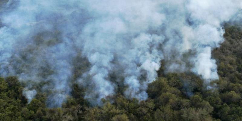 Queimadas têm agredido as reservas do centro do país