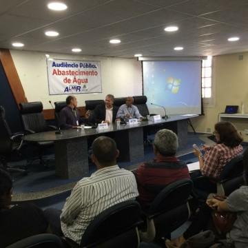 Audiência pública discute abastecimento de água no Recife