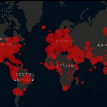 Brasil é o segundo país da América com mais casos de covid-19; país está atrás apenas dos EUA