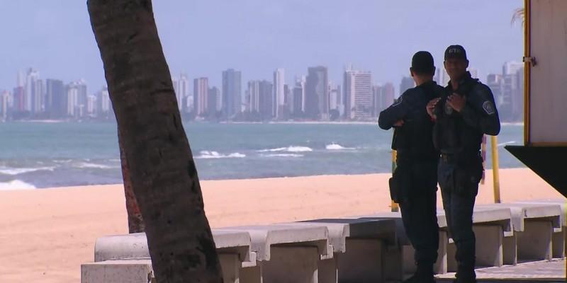 Nas praias e parques, ficam permitidas a prática de atividades físicas individuais e caminhadas