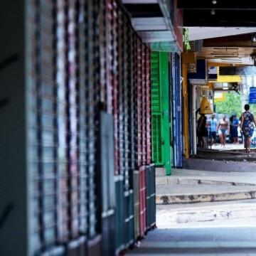 Governo do Estado prorroga fechamento do comércio até 31 de maio
