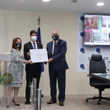 Prefeitos eleitos de Recife,  Olinda e Jaboatão dos Guararapes são diplomados pelo Tribunal Regional Eleitoral de Pernambuco