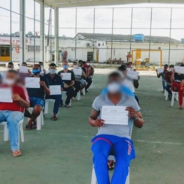 Número de profissionalizações nas unidades prisionais de Pernambuco aumenta em 2020