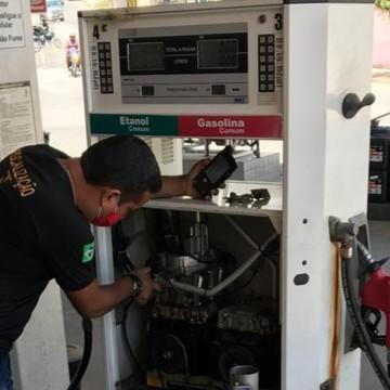 Fiscalização do Ipem-PE reprova 105 bombas de combustíveis